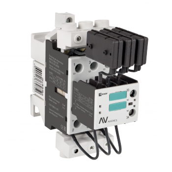 Контактор для конденсатора КМЭК 30 кВАр 230В 1NО EKF AVERES