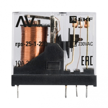 РП slim 25/1 10A 230В AC EKF AVERES