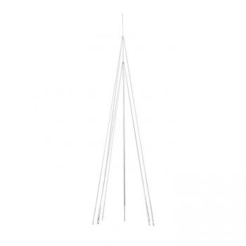 Мачта молниеприемная L=9м, D=40мм (+ коробка с растяжками) Al/NI EKF PROxima