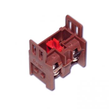 Контакт дополнительный для светосигнальной арматуры NC бордовый EKF PROxima