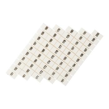 Маркеры для JXB-ST 4 с нумерацией 150-200 (10 шт.) EKF PROxima