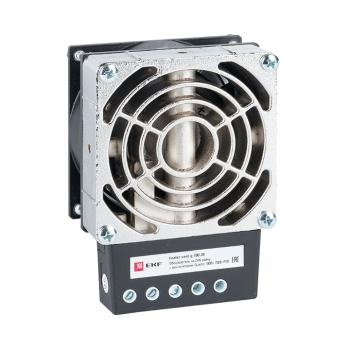 Обогреватель на DIN-рейку с вентилятором 100Вт 230В IP20 Quadro EKF PROxima