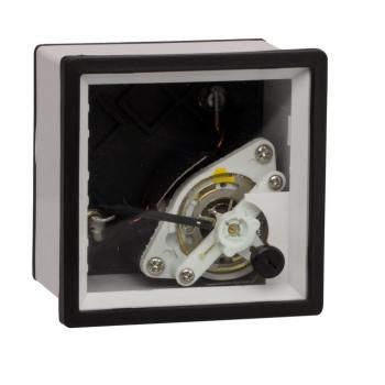 Амперметр АМA-721 (без шкалы) аналоговый на панель (72х72) квадратный вырез трансф. подкл. EKF PROxima