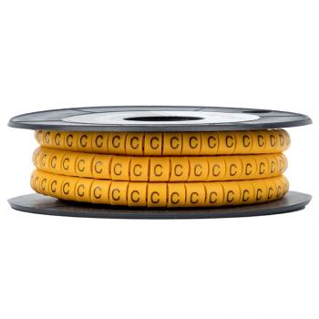 "Маркер кабельный 6,0 мм2 ""C"" (350 шт.) (ЕС-3) EKF PROxima"