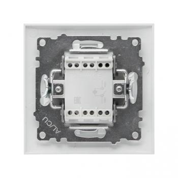 Валенсия выключатель 1-кл. 10А белый с индикатором EKF PROxima