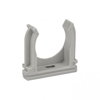 Крепеж-клипса серая d32мм  (50шт.) Plast EKF PROxima