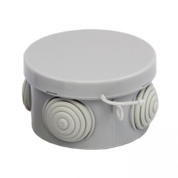 Коробка распаячная КМР-040-038 с крышкой наружная (65х40) 4 мембранных ввода IP54 EKF PROxima