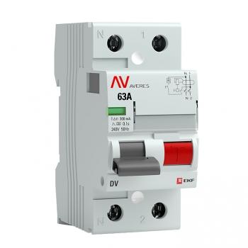 Выключатели дифференциального тока DV AVERES