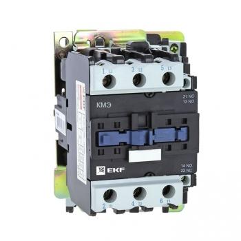 Контактор КМЭ малогабаритный 65А 400В 1NO 1NC EKF Basic