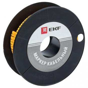 "Маркер кабельный 6,0 мм2 ""7"" (350 шт.) (ЕС-3) EKF PROxima"