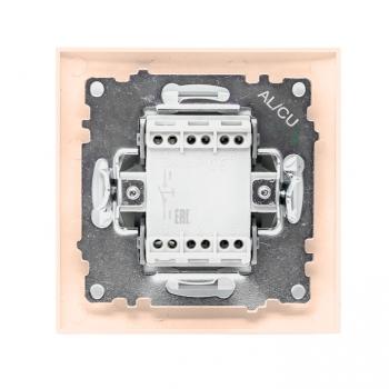 Валенсия кнопка звонка 10А кремовая EKF PROxima