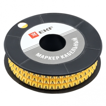 "Маркер кабельный 1,5 мм2 ""А"" (1000 шт.) (ЕС-0) EKF PROxima"