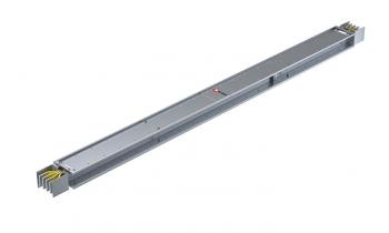 Прямая магистральная нестандартная секция 2000 А IP55 AL 3L+N+PE(КОРПУС) длина 2,0м-2,99м