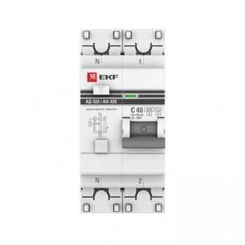 Дифференциальный автомат АД-32 (селективный) 1P+N 25А/300мА EKF PROxima