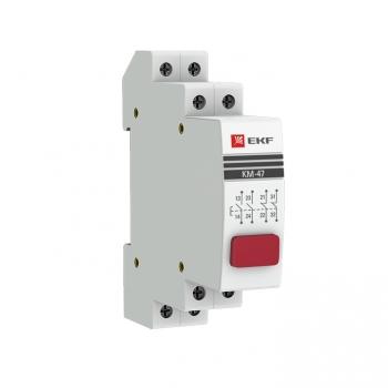 Кнопка модульная КМ-47 (красная) EKF PROxima