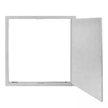 Люк ревизионный металл 500х500 (ШхВ внутр.) EKF Basic