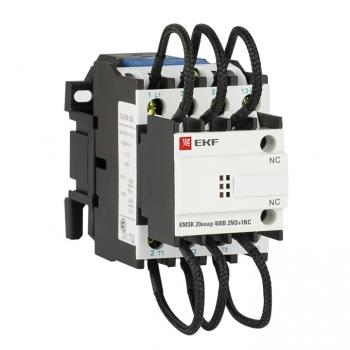 Контактор для конденсатора КМЭК 20квар 400В 2NО+1NC EKF PROxima