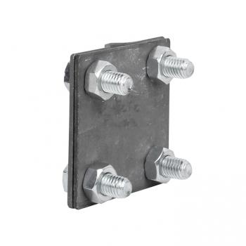 Зажим универсальный полоса 30 - прут 10 (пластина 57x57мм) HZ EKF PROxima