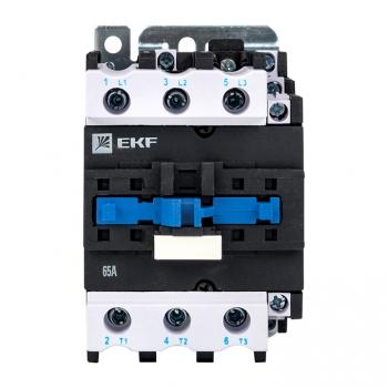 Пускатель электромагнитный серии ПМЛ-4160М 65А 400В EKFBasic