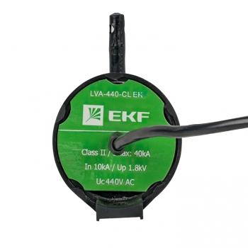 Ограничитель перенапряжения LVA-440B-CL (Uраб - 440 В) EKF PROxima