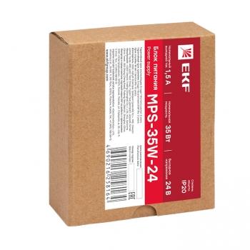 Блок питания 24В MPS-35W-24 EKF Proxima