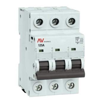 Выключатель нагрузки AVN 3P 125A EKF AVERES