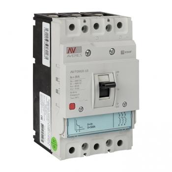 Автоматический выключатель AV POWER-1/3  20А 35kA TR