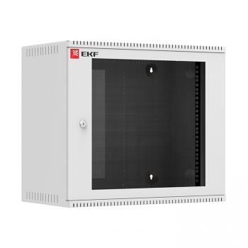 Шкаф телекоммуникационный настенный 9U (600х550) стекло, Astra серия EKF PROxima