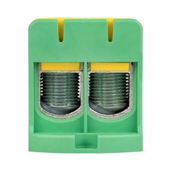 Клемма силовая вводная двойная КСВ 35-150 желто-зеленая EKF PROxima