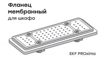 Фланец мембранный 220х79 мм для шкафа IP54 EKF PROxima