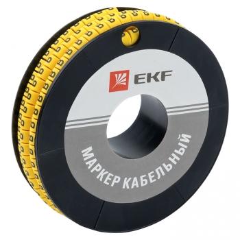 "Маркер кабельный 4,0 мм2 ""B"" (500 шт.) (ЕС-2) EKF PROxima"