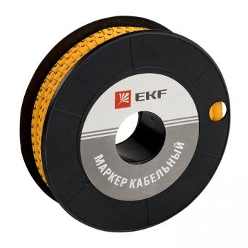 """Маркер кабельный 1,5 мм2 """"L"""" (1000 шт.) (ЕС-0) EKF PROxima"""