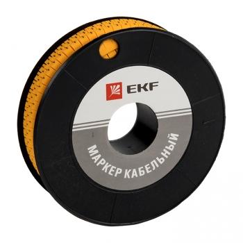 """Маркер кабельный 2,5 мм2 """"L"""" (1000 шт.) (ЕС-1) EKF PROxima"""