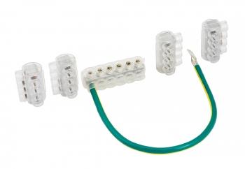 Комплект клеммников SV15 3x KE10.1 + 1x KE10.3 (Al 10-35 / Cu 1.5-25) для сетей уличного освещения EKF PROxima