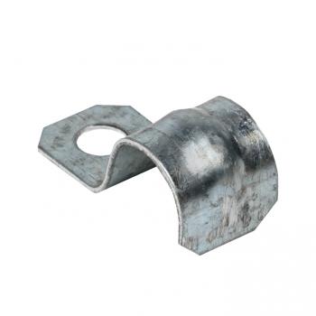 Скоба металлическая однолапковая d12-13мм. (100шт.) EKF PROxima