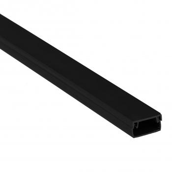 Канал кабельный чёрный (100х60) (18м.) EKF Plast