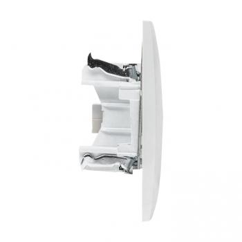 Валенсия розетка телефонная RG-11 1-местная белая EKF PROxima