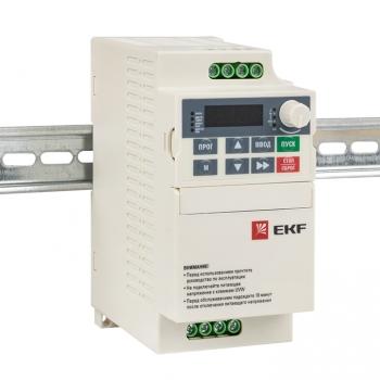 Преобразователь частоты 0,75 кВт 1х230В VECTOR-80 EKF Basic