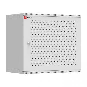 Шкаф телекоммуникационный настенный 9U (600х550) перфор, Astra серия EKF PROxima