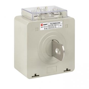Трансформатор тока ТТЕ-A-300/5А с клеммой напряжения класс точности 0,5 EKF PROxima