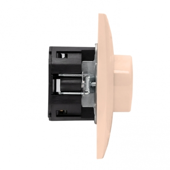 Валенсия светорегулятор 600W 220В кремовый EKF PROxima