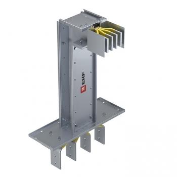 Фланцевая секция с вертикальным углом для подключения к щиту  3200 А IP55 AL 3L+N+PE(КОРПУС)