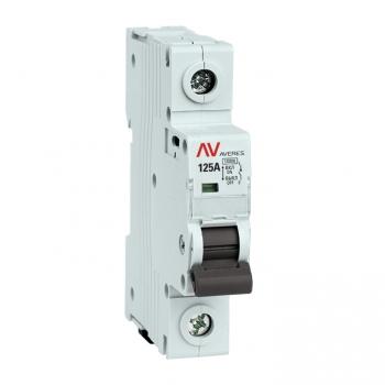 Выключатель нагрузки AVN 1P 125A EKF AVERES