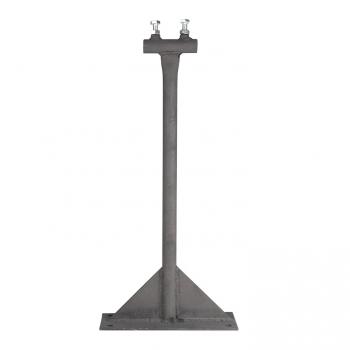 Держатель мачты молниеприемника к стене, D=20мм, вынос 100мм, L= 530