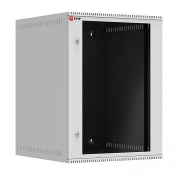 Шкаф телекоммуникационный настенный 15U (600х650) дверь стекло, Astra A серия EKF Basic