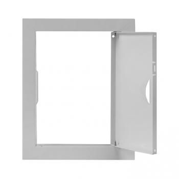 Люк ревизионный металл 150х200 (ШхВ внутр.) EKF Basic