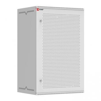 Шкаф телекоммуникационный настенный 18U (600х550) перфор, Astra серия EKF PROxima