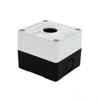 Корпус КП101 пластиковый 1 кнопка белый EKF PROxima