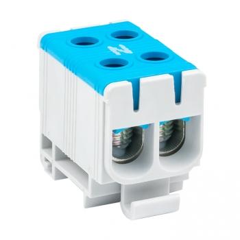 Клемма силовая вводная двойная КСВ 16-50 синяя EKF PROxima