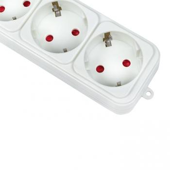 Сетевой фильтр 6*5м 10А/2,2кВт с выкл. c/з ПВС 3х0,75 Блокбастер EKF PROxima